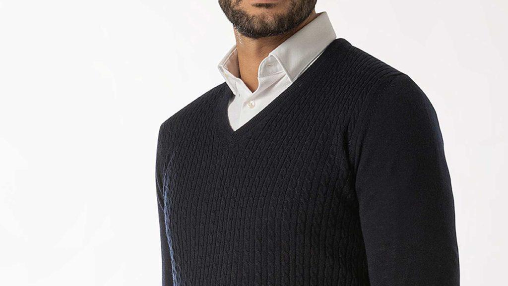 maglione in ufficio